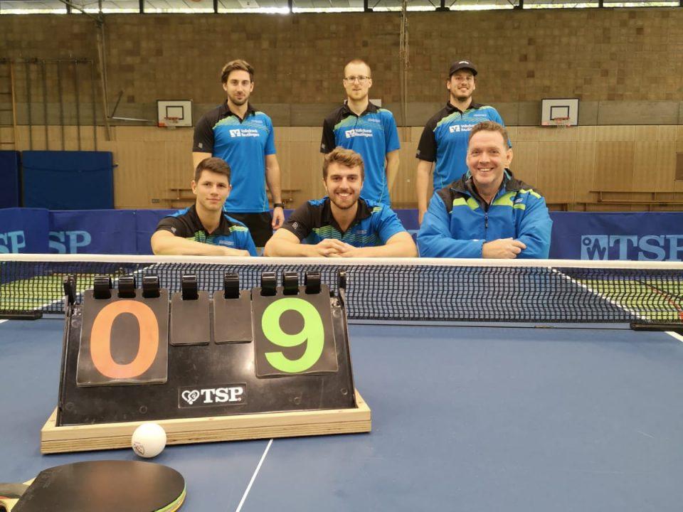 Auftakt nach Maß - 2020 - Team SSV Reutlingen Tischtennis Sieger Foto
