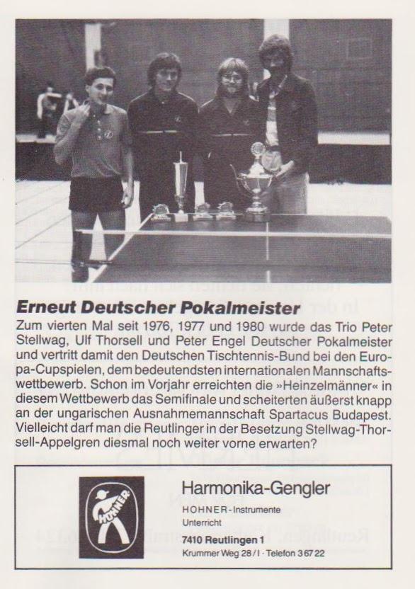 SSV Reutlingen Pokalsieger